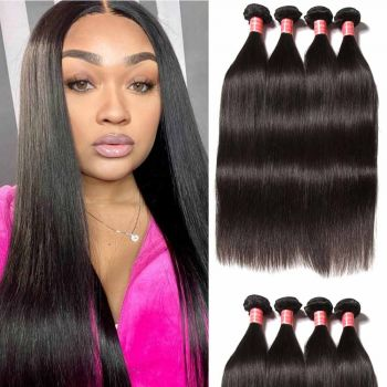 Donmily Brazilian Straight Hair 4 Bundles