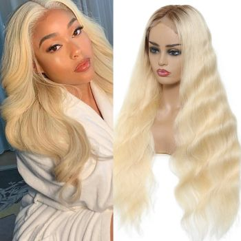 Body Wave 13*4 Lace Front Wig 130% Density Color T4613