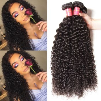 Donmily Malaysian Curly Hair 4 Bundles