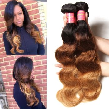 4 Bundles Brazilian Ombre Body Wave Human Hair