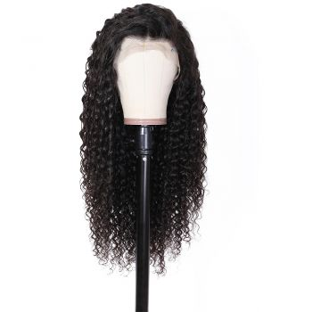 13x6 Deep Wave Lace Front Wigs With Human Hair 150% Density