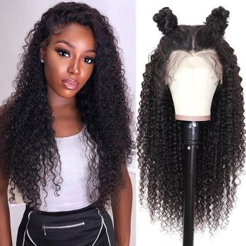 cheap jerry curly13x4 lace front wig
