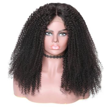 360 Lace Wig Kinky Curl 150% Density Human Hair
