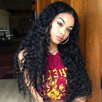 Donmily Peruvian Natural Wave 3 Bundles with Lace Closure (Free Part)