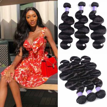 3 bundles body wave hair