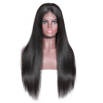 Donmily New Transparent 13*6 Lace Front Wig Straight Hair 150% Density