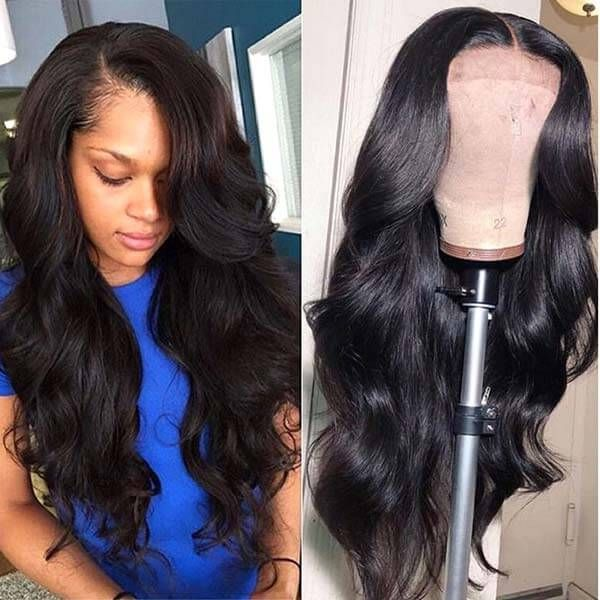 13 4 body wave lace front wig