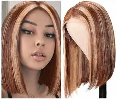 How to Cut A Straight Bob Wig