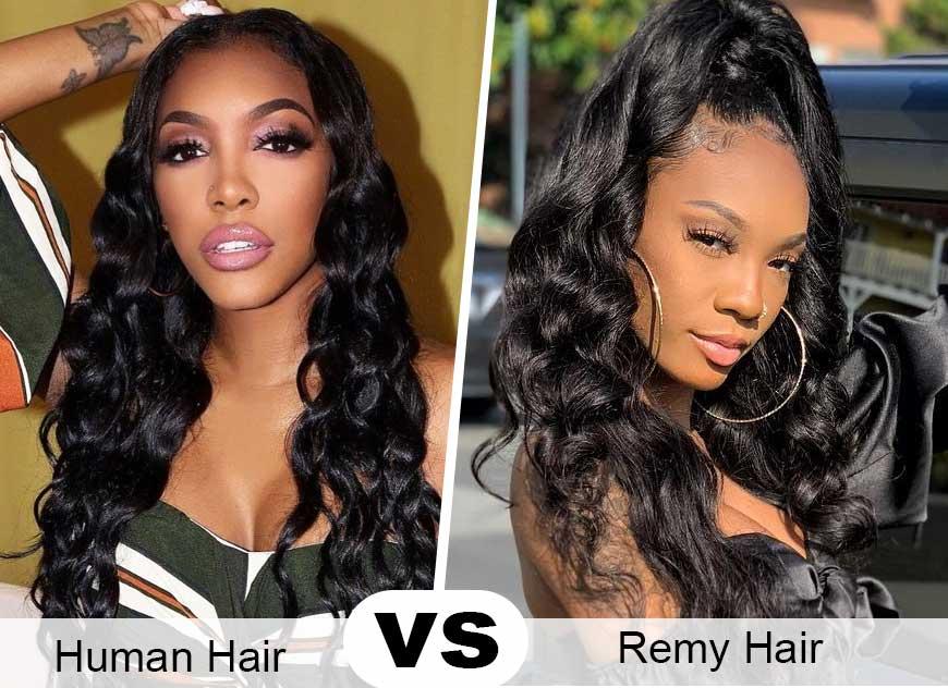 Human Hair vs. Remy Human Hair