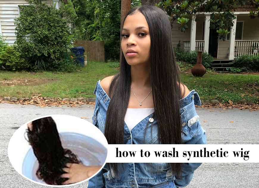 How to Wash Synthetic Wig