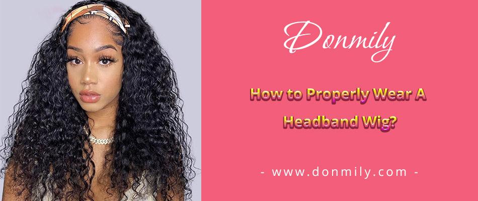 headband wig0916
