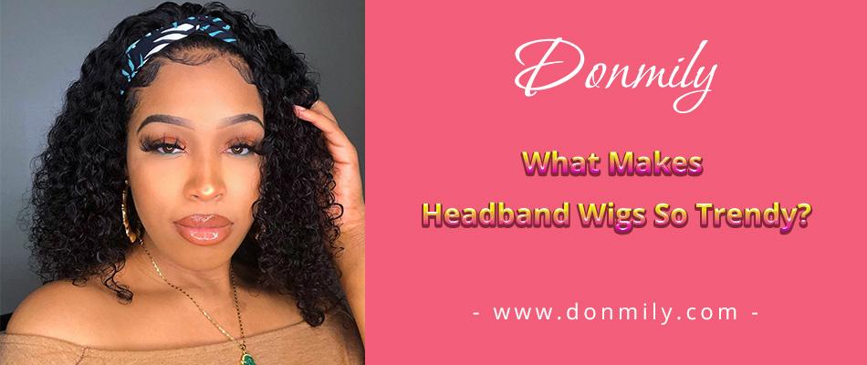 headband wig09101