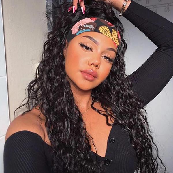 headband wig 09161