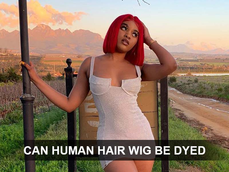 can human hair wig be dyed