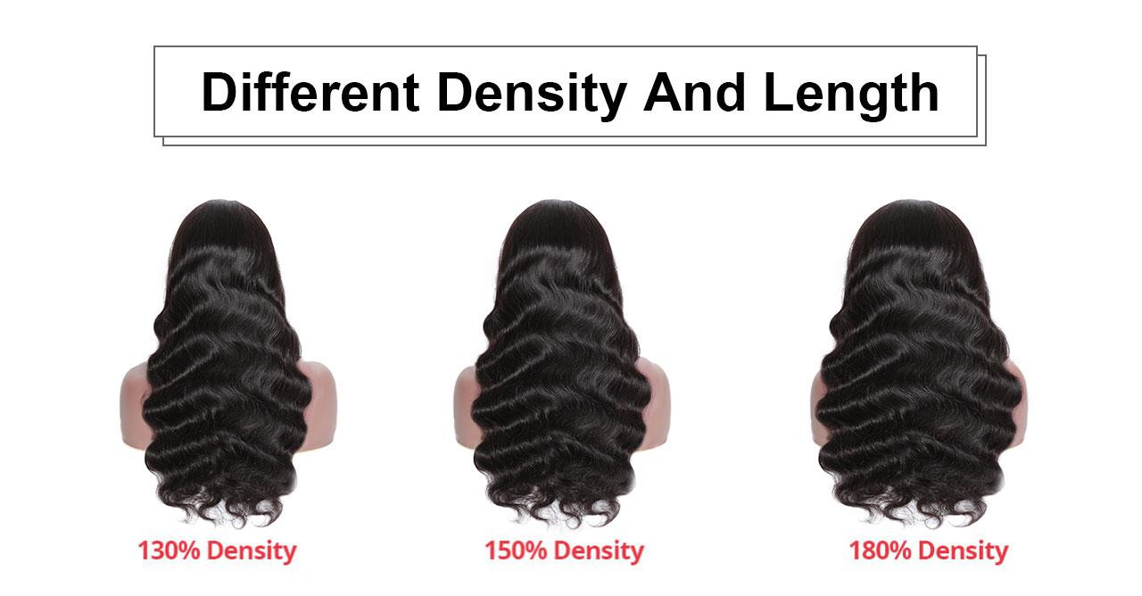 density compare