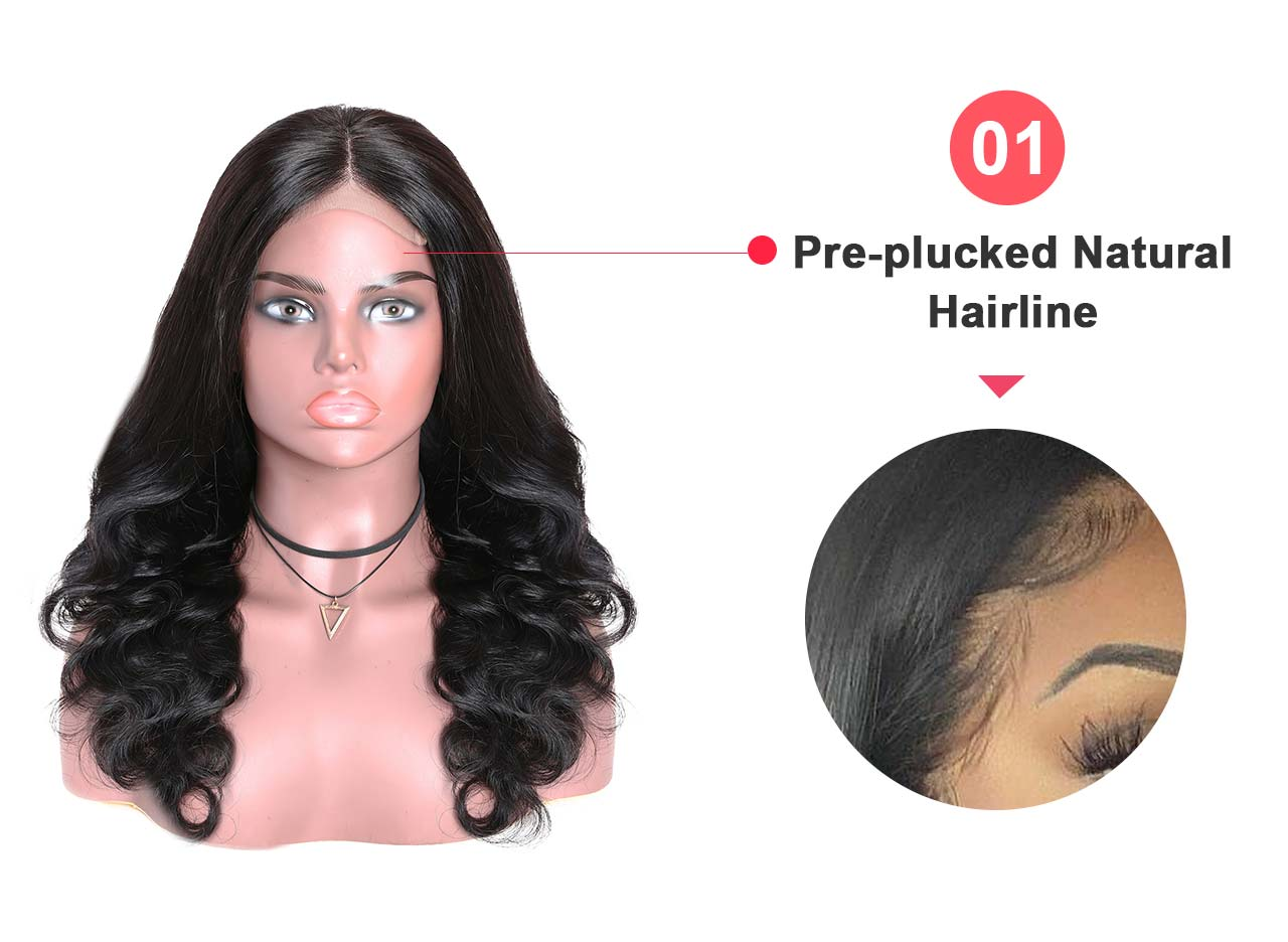 Natural hairline