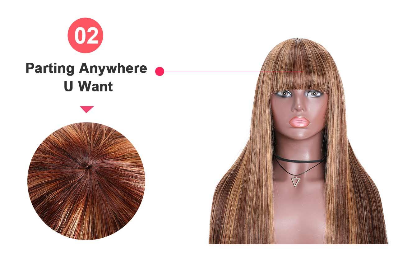machie made wig