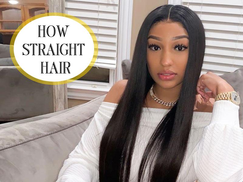 how straight hair