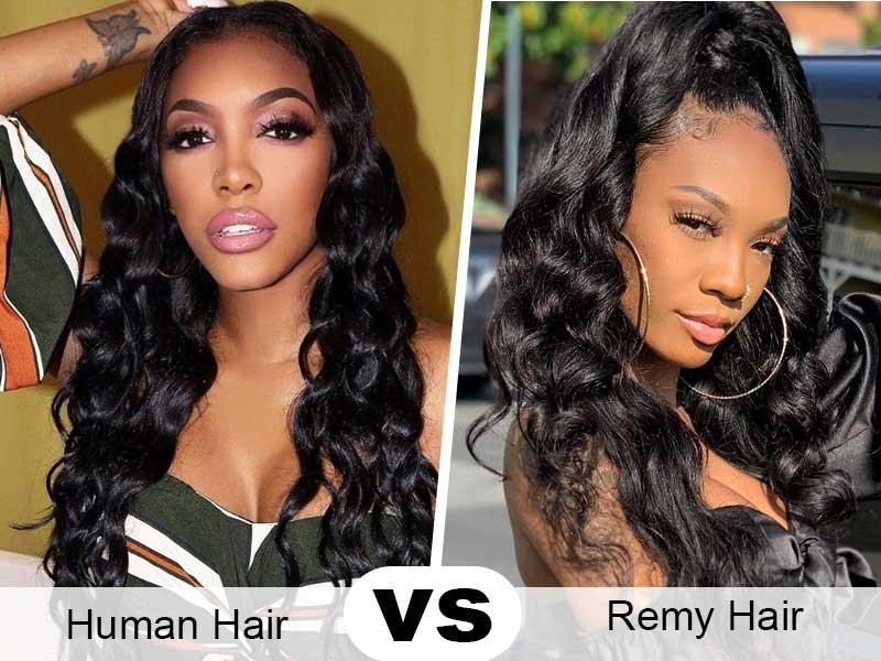 human hair vs remy hair
