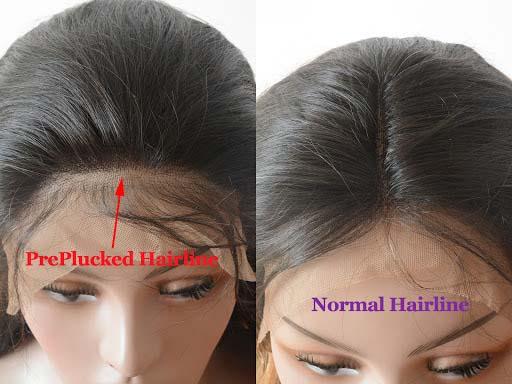 pluck hair