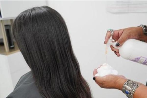 use hairspray