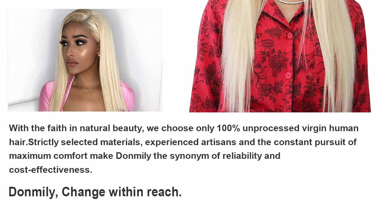 donmily human hair