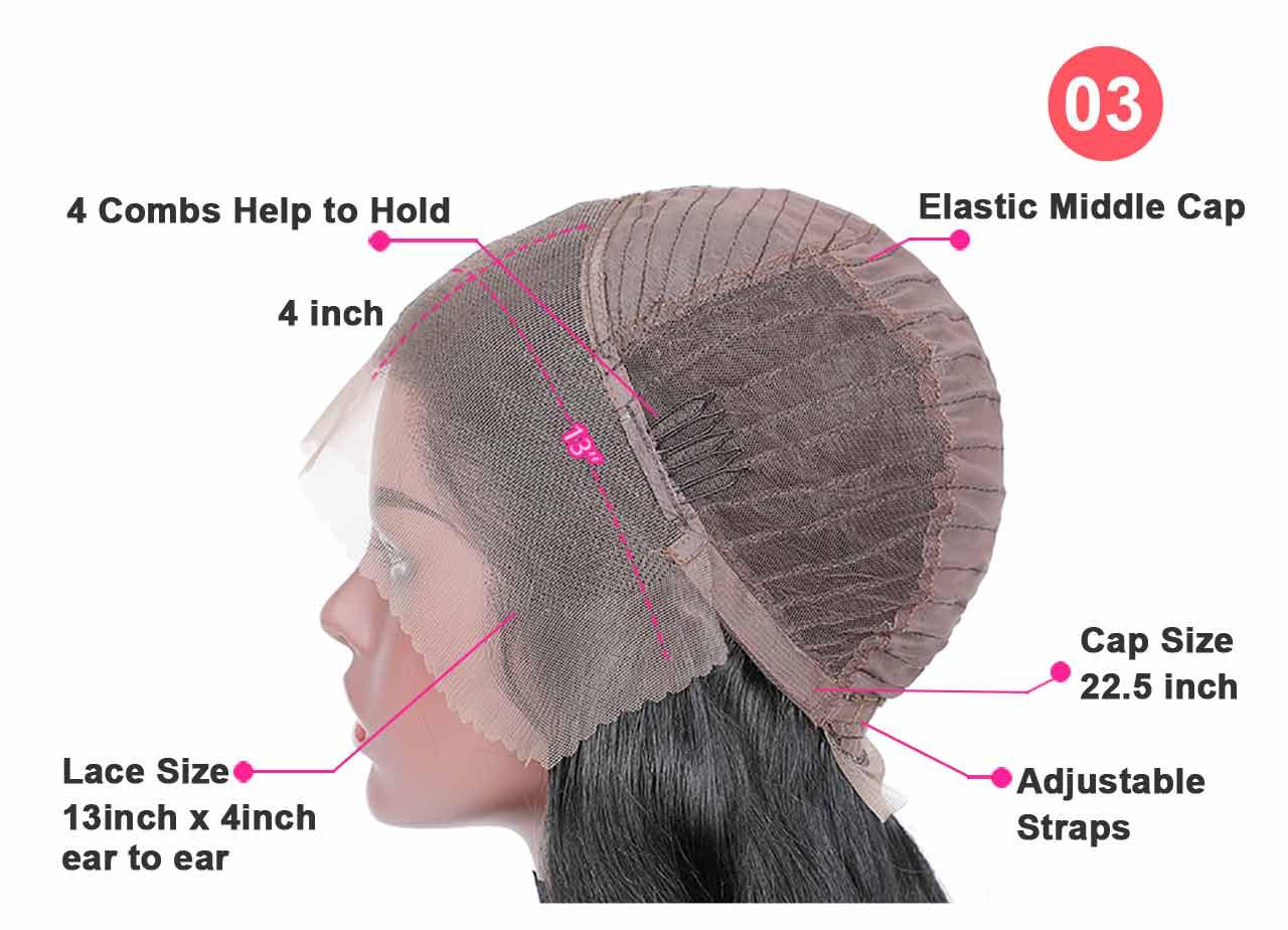 hair closure detail