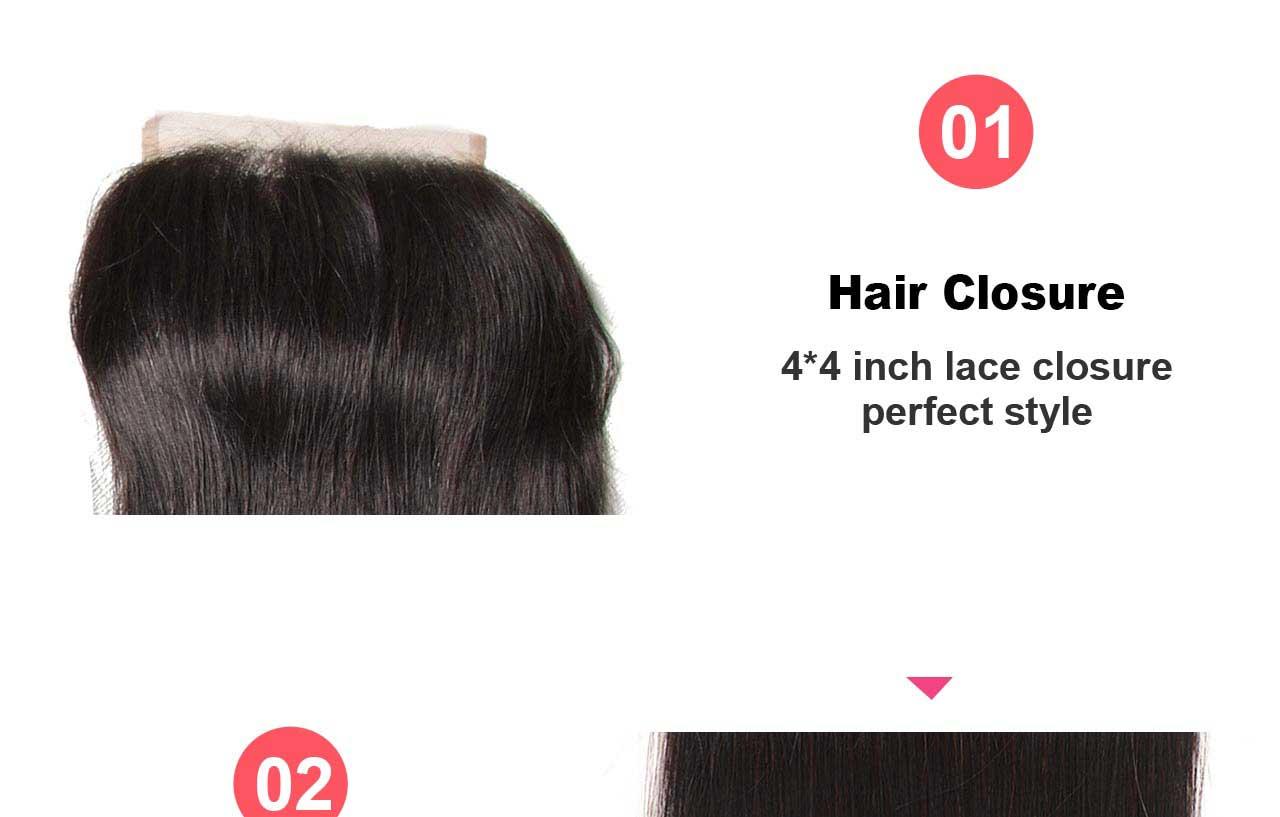 hair closure feature