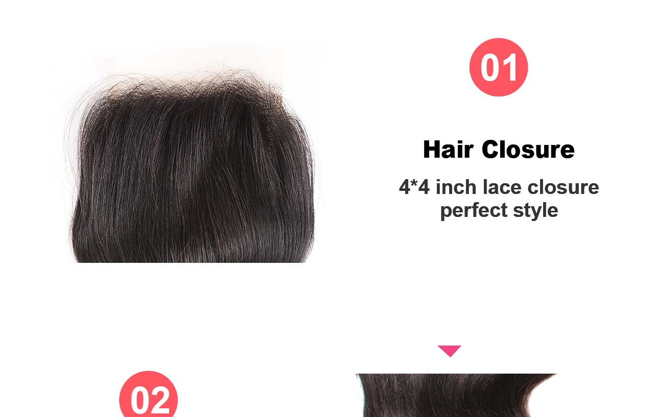 hair closure feature