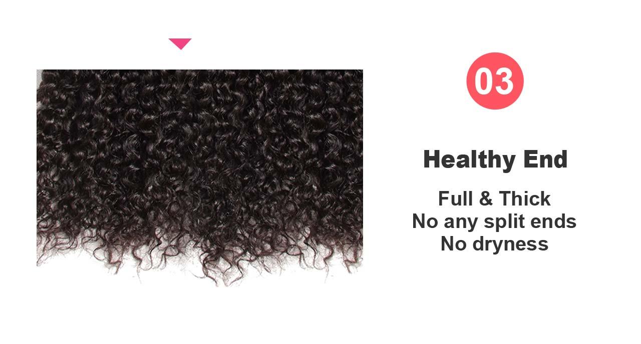 hair end detail
