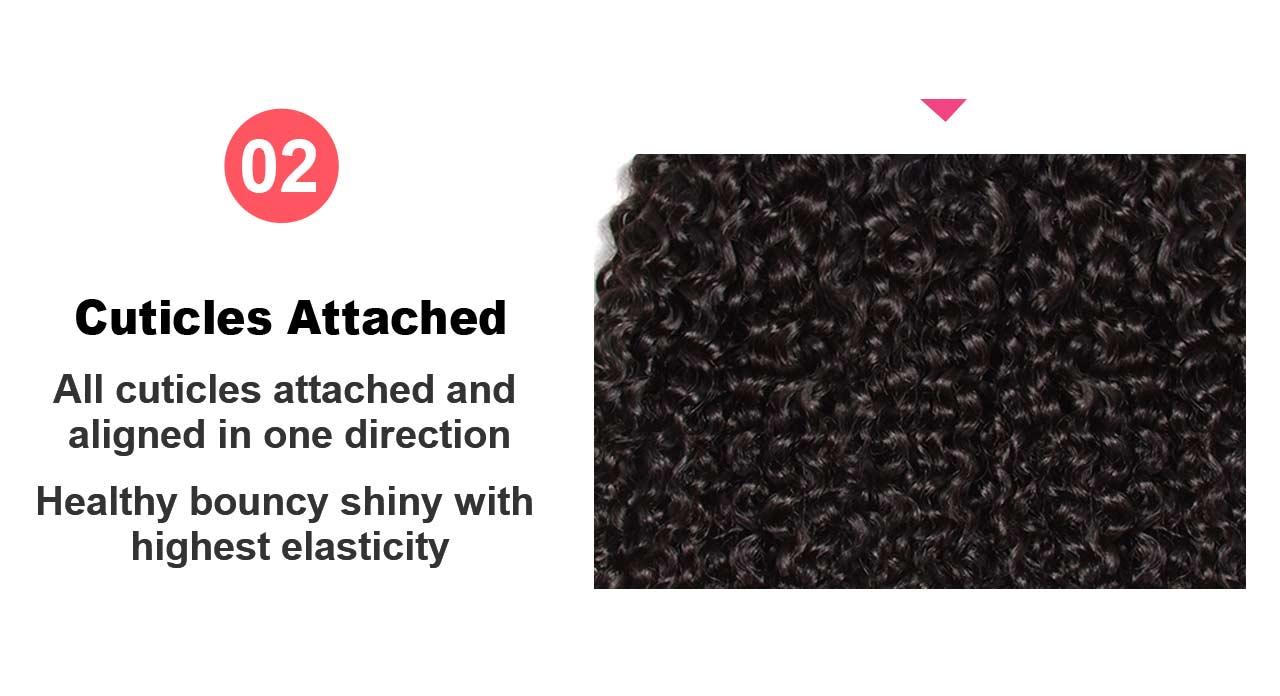 hair weft detail