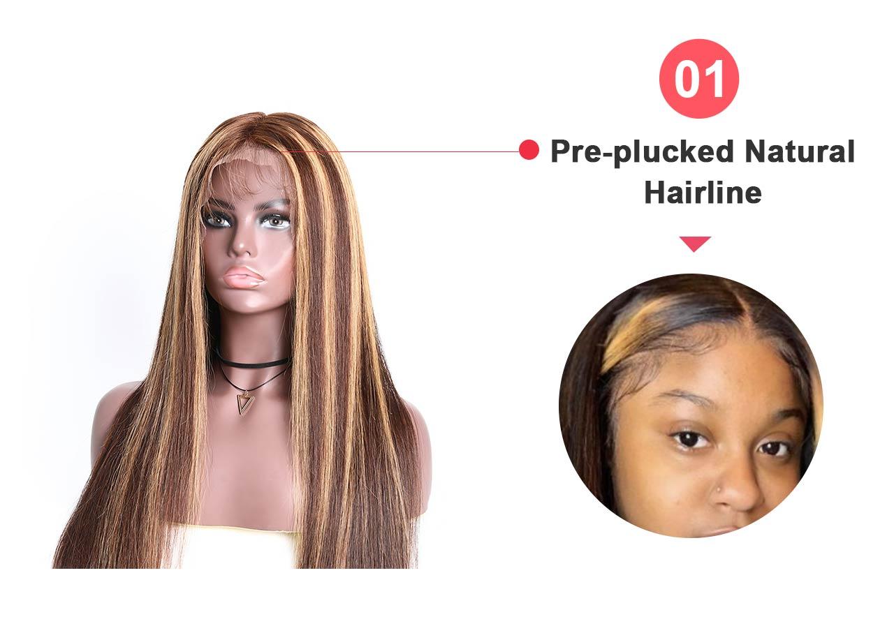hairline detail