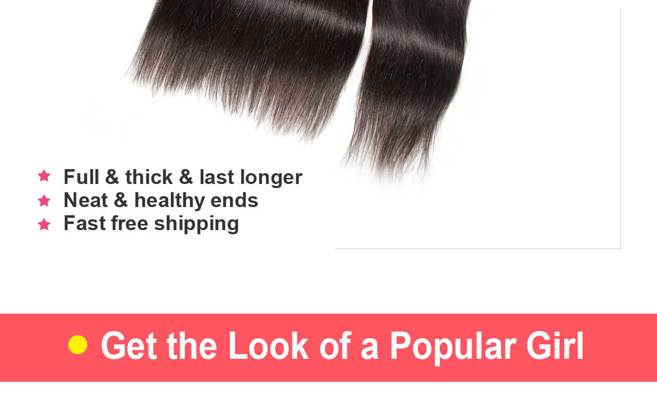straight hair end feature
