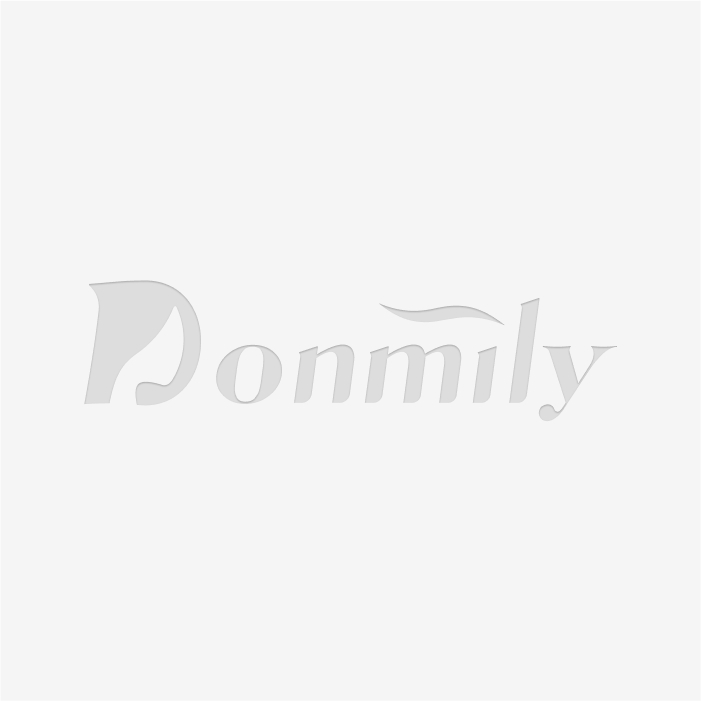 Donmily 4 Bundles Kinky Straight Hair with 13x4 Lace Frontal